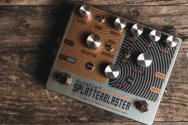 Dunable Guitars Unveils The SplatterBlaster Pedal