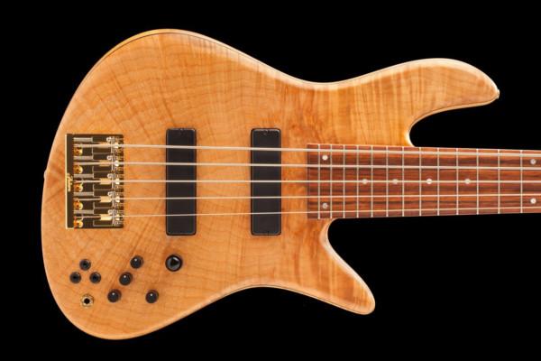 Fodera Reveals James Genus Emperor 5 Elite Bass
