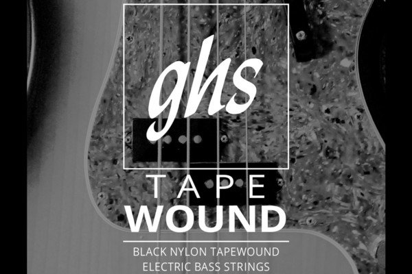 GHS Strings Reintroduces Tapewound Bass Strings