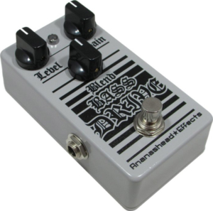 Ananashead Effects Blend Bass Drive Pedal
