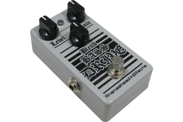 Ananashead Effects Unveils the Blend Bass Drive Pedal
