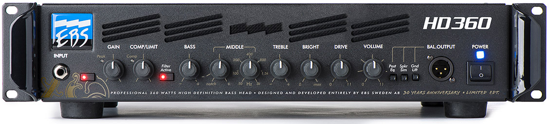 EBS 30th Anniversary HD360 Amp