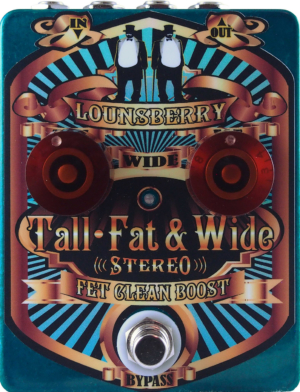 Lounsberry Pedals Tall Fat & Wide Pedal