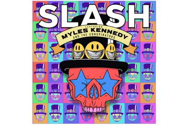 """Slash Releases """"Living the Dream"""" with Myles Kennedy and the Conspirators"""