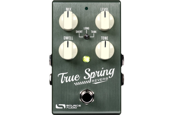 Source Audio Introduces the True Spring Reverb Pedal