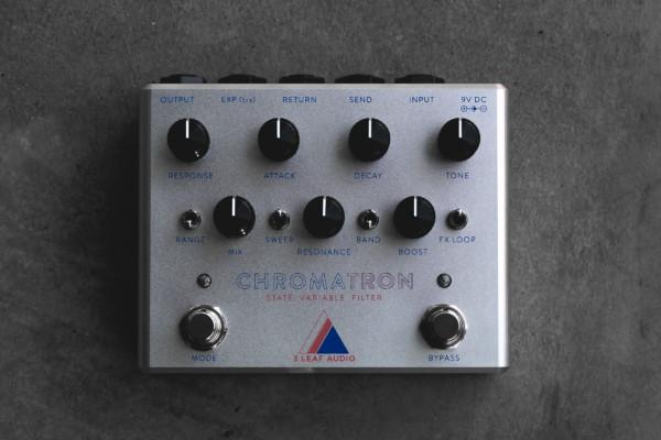 3Leaf Audio Unveils the Chromatron Pedal