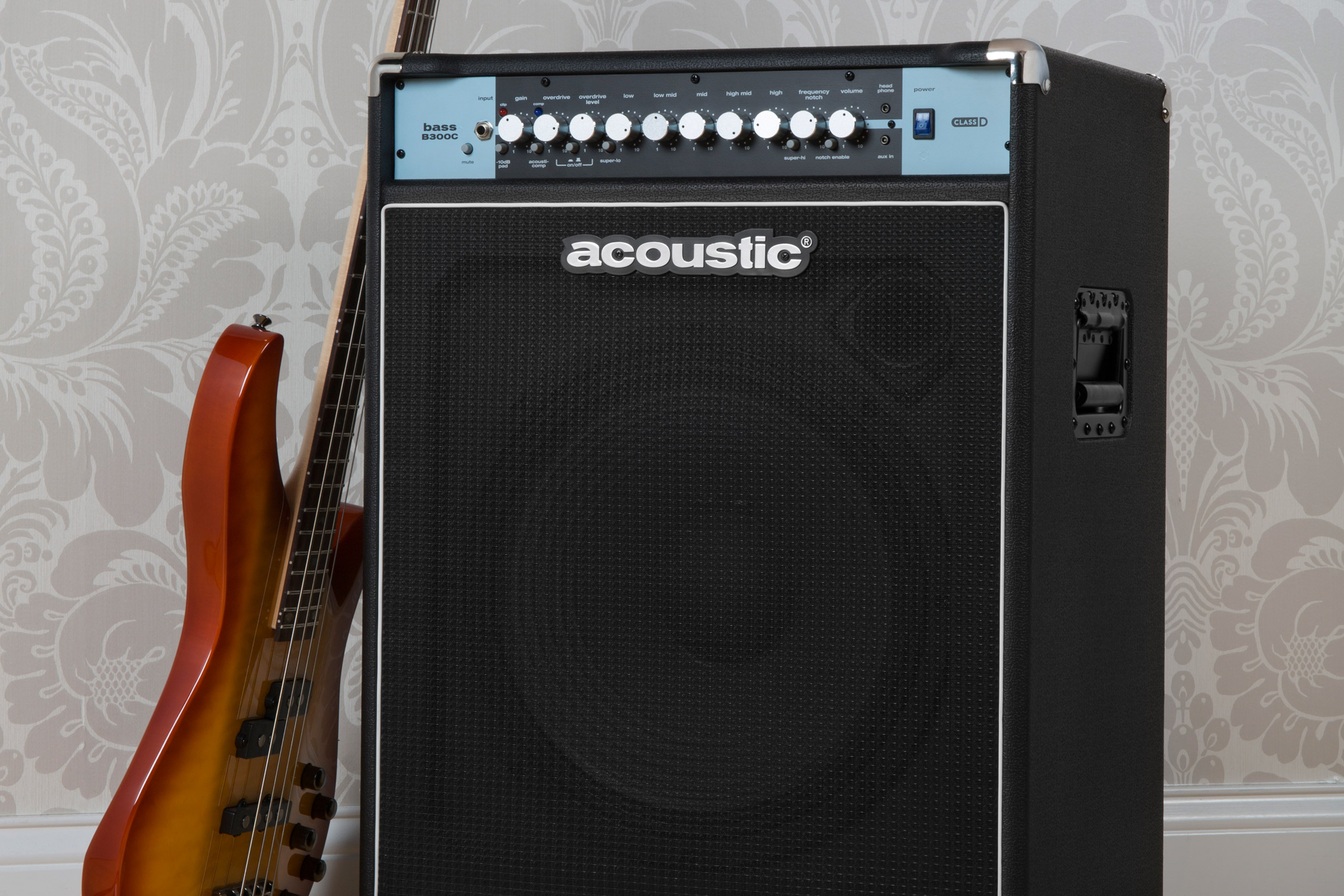Acoustic Amplification Adds B300C and B600C to Bass Combo Lineup