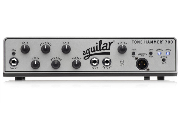 Aguilar Amplification Introduces the Tone Hammer 700 Bass Amp