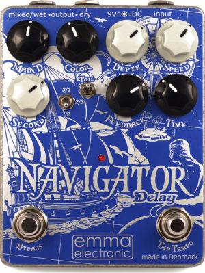 Godlyke EMMA Electronic ND-1 Navigator Delay Pedal