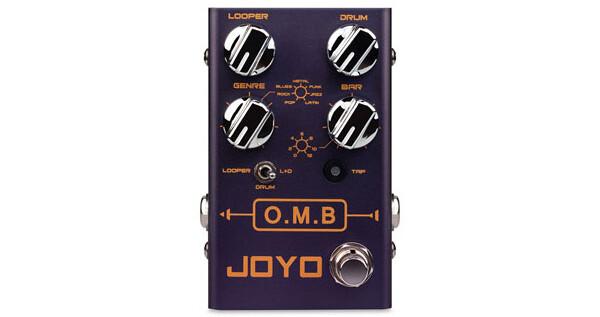 JOYO Audio Introduces the O.M.B. Looper/Drum Machine Pedal