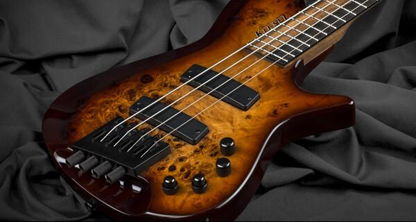 Kiesel Guitars Introduces Zeus Multiscale Headless Basses