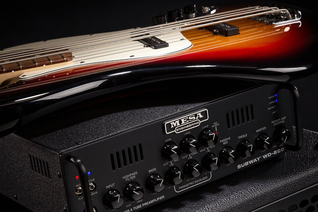 Mesa/Boogie Subway WD-800 Head with Bass