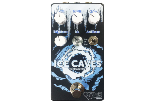 Rocket Surgeon Labs Introduces the Ice Caves Reverb Pedal