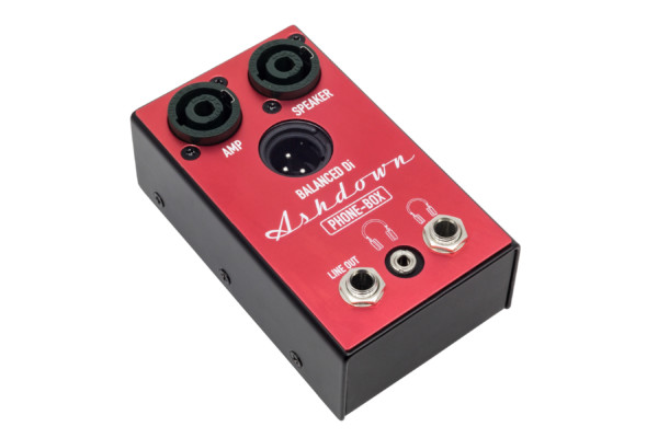 Ashdown Engineering Introduces the Phone Box Pedal