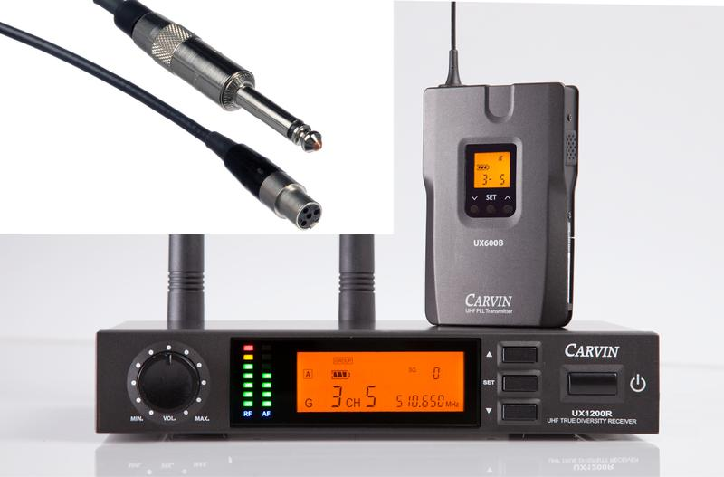 Carvin Introduces the UX1200BGT Wireless System