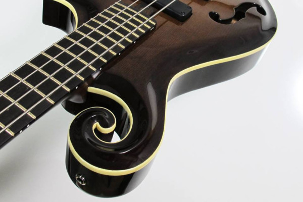 "Bass of the Week: Citron Guitars Byron ""F"" Style Bass"