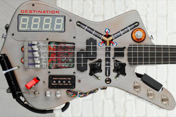 Doner Designs Selling Time Machine Bass For Charity