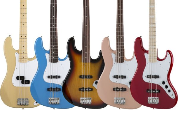 Fender Unveils Limited Edition Made In Japan Basses