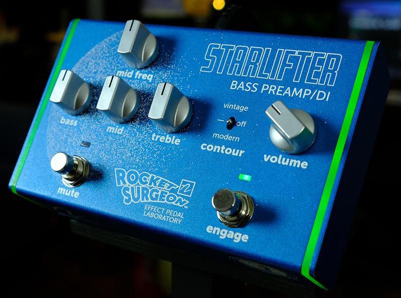 Rocket Surgeon Effect Pedal Laboratory StarLifter Bass Preamp/DI