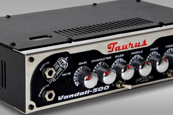Taurus Announces the Vandall-500 Bass Amp