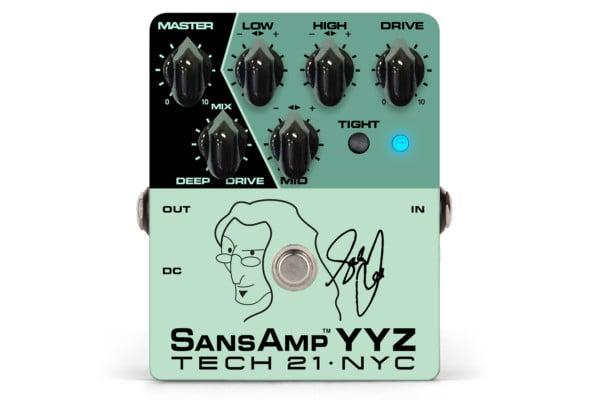 Tech 21 Unveils the Geddy Lee Signature SansAmp YYZ Pedal
