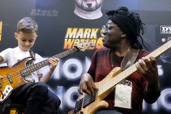 Áron Hodek and Richard Bona: 2019 NAMM Jam