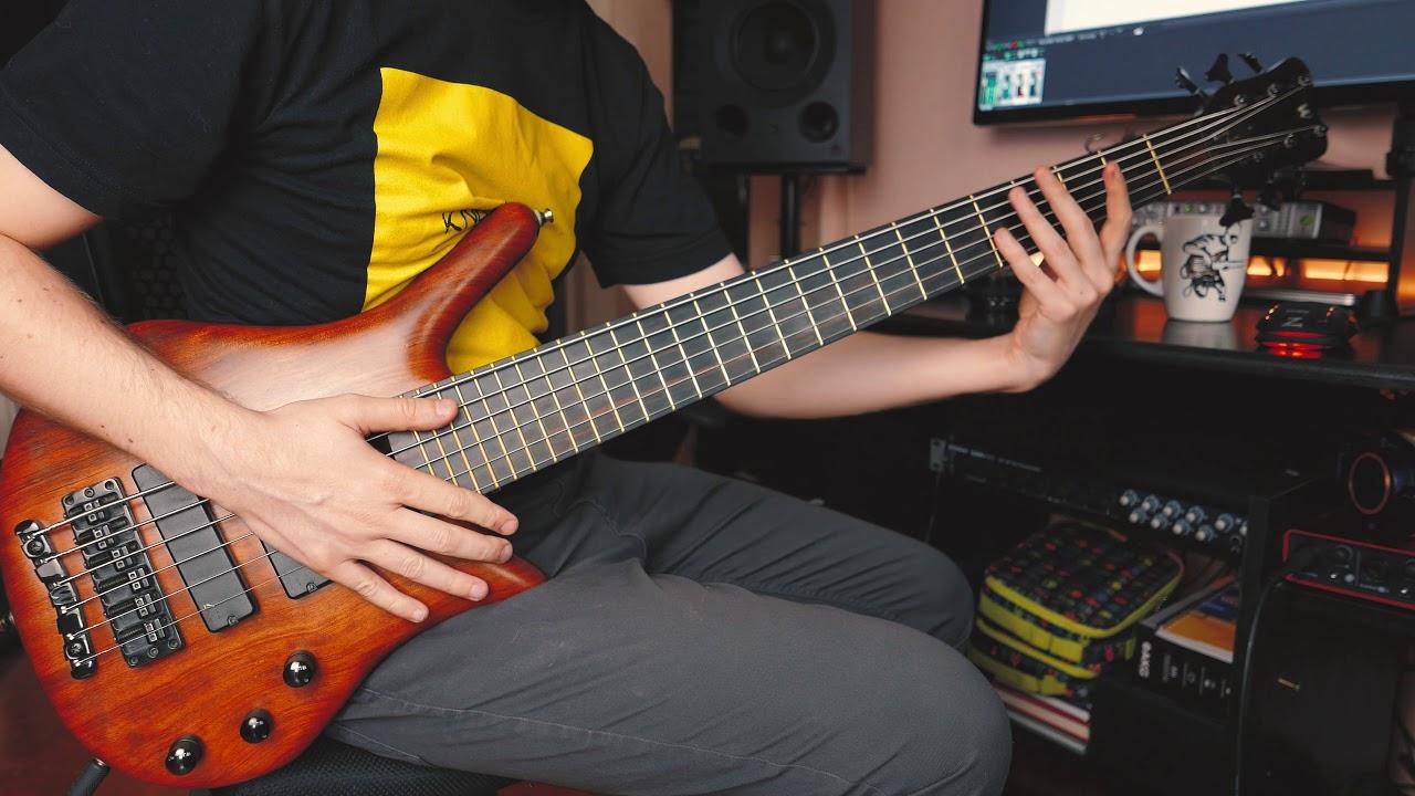 6-string slap bass