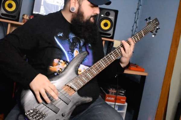 """Video Premiere: Colby Richardson's Bass Playthrough of Reflect//Refine's """"No Soul"""""""