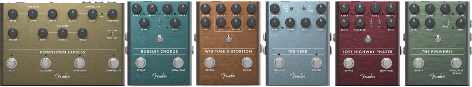 Fender 2019 Effects Pedals