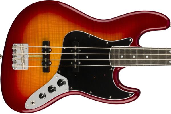 Fender Previews the Rarities Flame Ash Top Jazz Bass