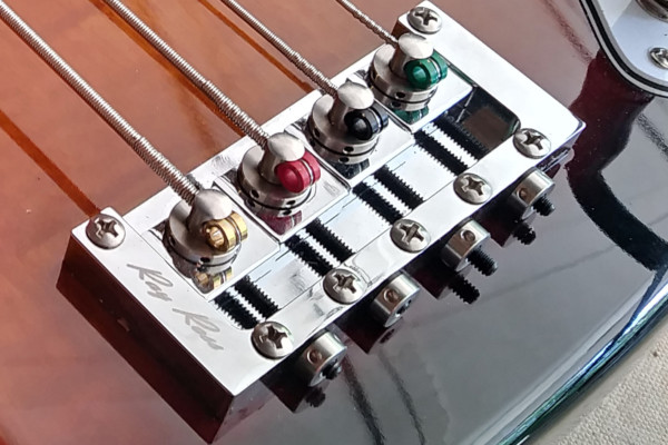 Ray Ross Saddle-Less Bass Bridge Now Available