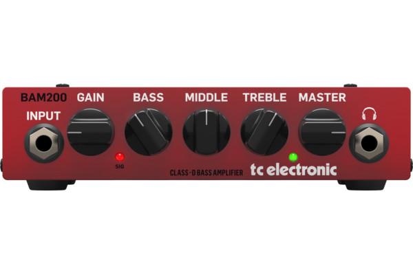 TC Electronic Introduces the BAM200 Mini Bass Amp