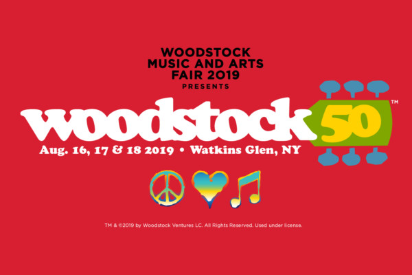 Lineup Announced for Woodstock 50th Anniversary Festival