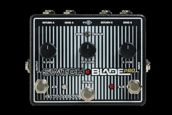 Electro-Harmonix Now Shipping Switchblade Pro Pedal
