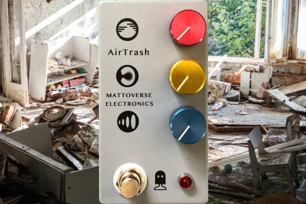 Mattoverse Electronics Introduces the AirTrash Effects Pedal