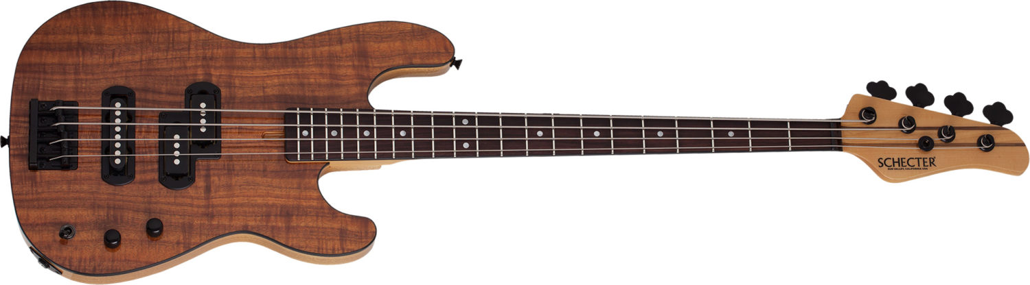 Schecter Michael Anthony Koa Top USA Signature Bass