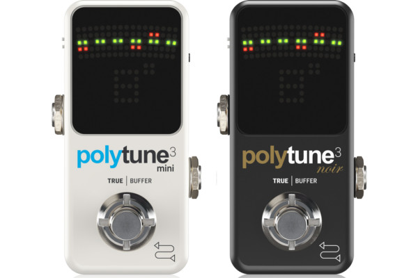 TC Electronic Announces PolyTune 3 Mini and Noir Tuners