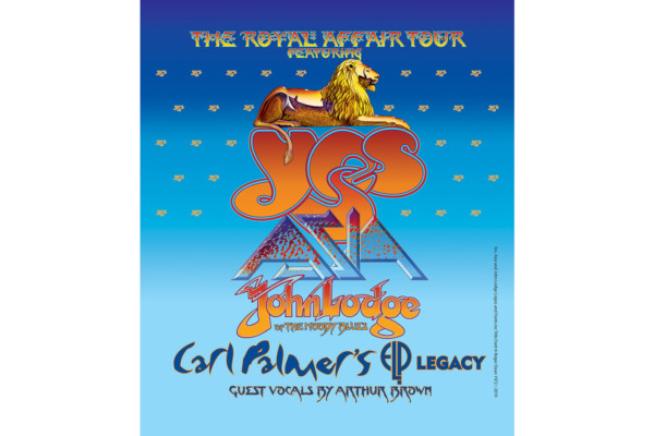 Yes Announces the Royal Affair Tour with Asia, John Lodge, and Carl Palmer's ELP Legacy