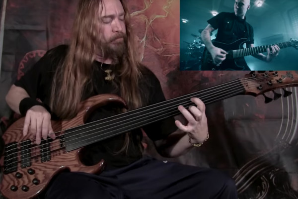 """Steve Di Giorgio: Bass Playthrough of Gone In April's """"The Curtain Will Rise"""""""