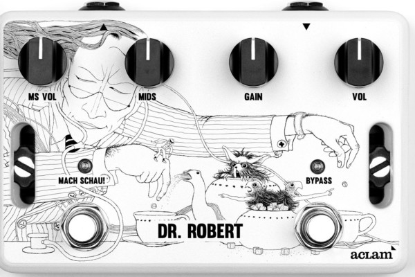 Aclam Guitars Announces Dr. Robert Overdrive Pedal