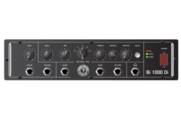 Form Factor Audio Previews the Bi1000Di Bass Amp