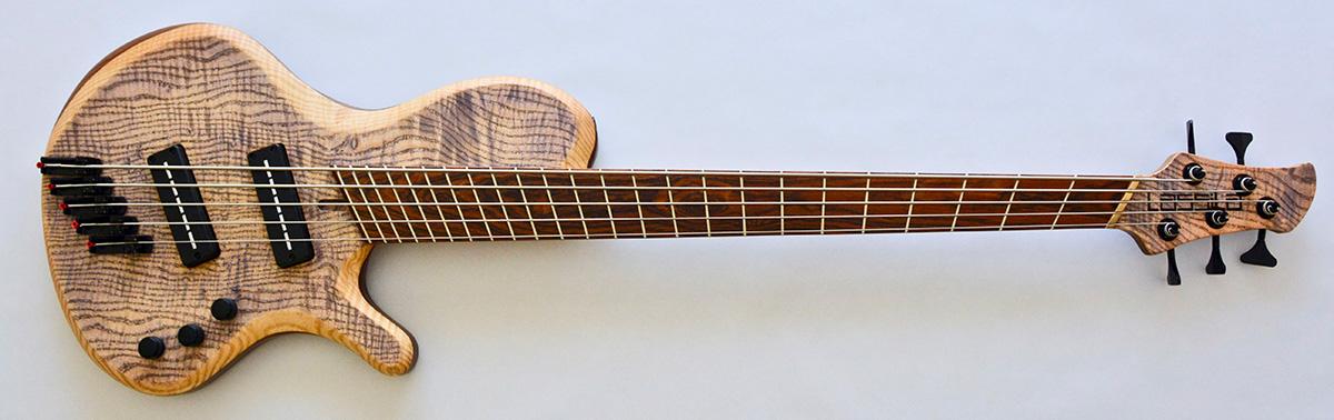 Lassila Guitars Antipode Single Cut Fan Fret Bass
