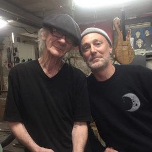 Pete Hilton with Carl Thompson (2019)