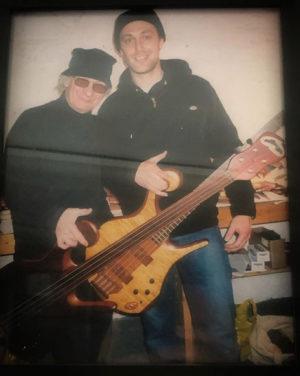 Pete Hilton with Carl Thompson