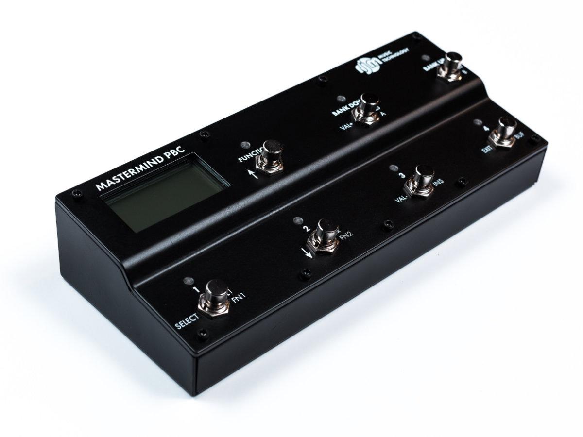 RJM Music Mastermind PCB-6X Pedal Unit