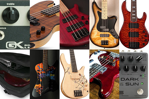Bass Gear Roundup: The Top Gear Stories in April 2019