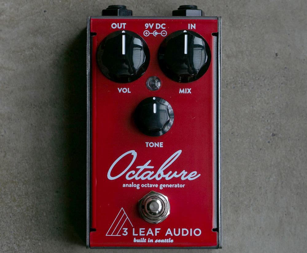 3Leaf Audio Octabvre Mini Octave Pedal