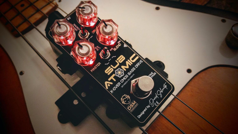 DSM Noisemaker Sub Atomic X-over CMOS Bass Drive Pedal