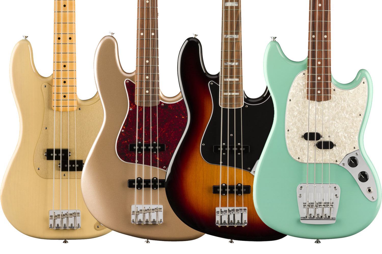 Fender Vintera Series Basses