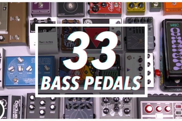 BassTheWorld.com: 33 Bass Pedals